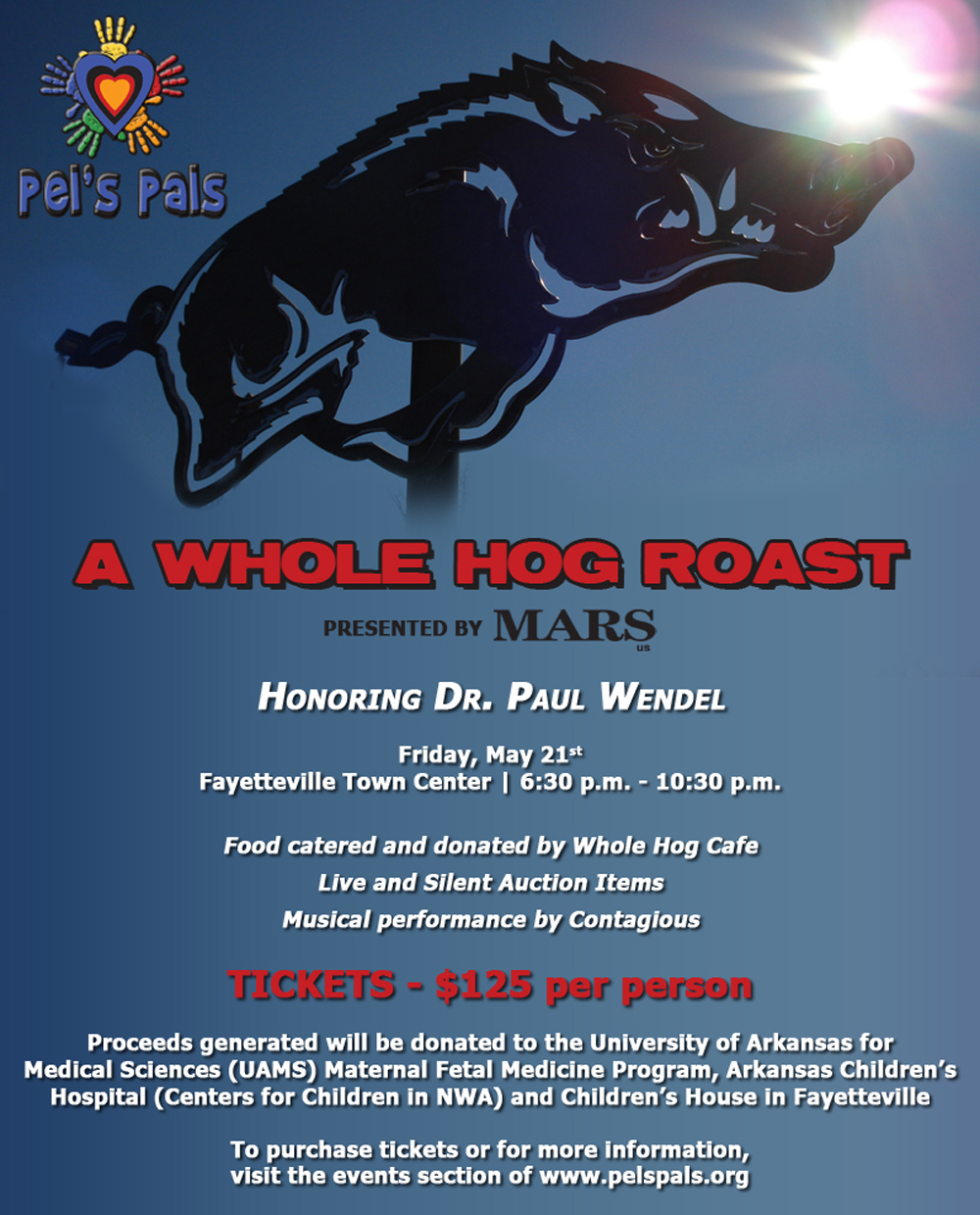 Pel's Pals Hog Roast is 2 Weeks Away