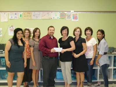 Ladies Auxiliary shows support for Boys and Girls Club of Benton County by providing a $23,550 donation