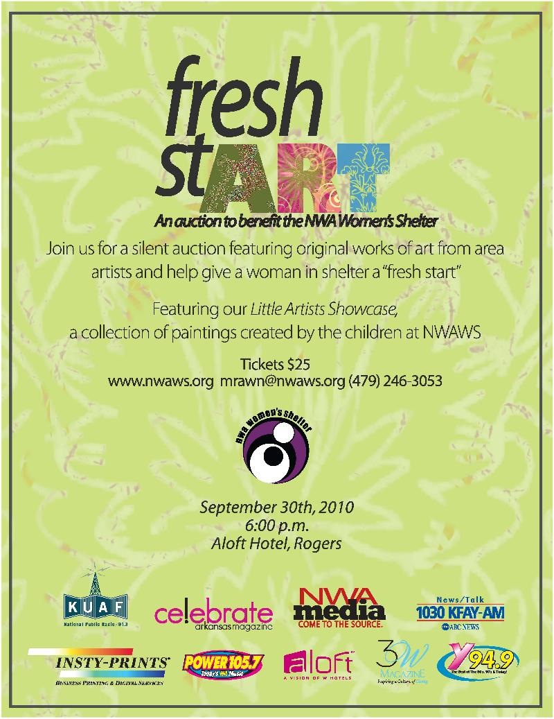 Get a Fresh Start with the NWA Women's Shelter