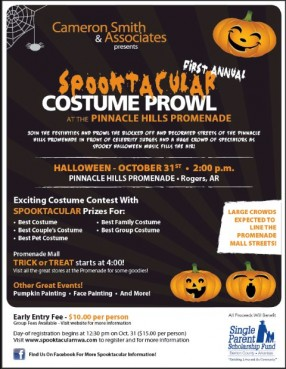 Inaugural Spooktacular Costume Prowl to Benefit Local Nonprofit