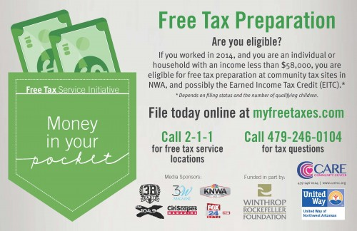 United Way NWA Offers Free Tax Service Initiative in Northwest Arkansas