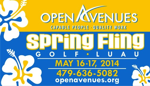 17th Annual Open Avenue's Spring Fling to be hosted by Brett and Kara Biggs