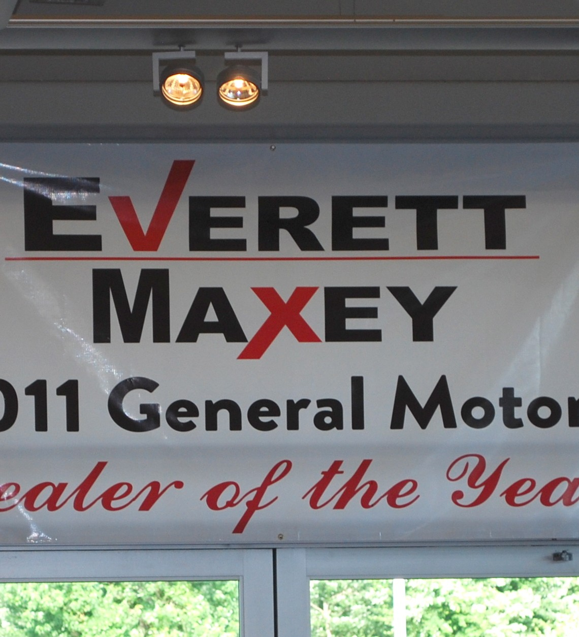 Everett Maxey–General Motors Dealer of the Year