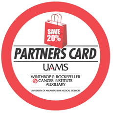 Jumpstart Holiday Shopping with a 20 Percent Discount from UAMS Cancer Institute's Partners Card