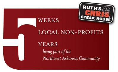 Ruth's Chris Rogers Celebrates Five Years by Giving to Five Local Non-Profits