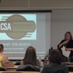 "Kathy Forbes of Cameron Smith & Associates during the ""Street Smarts"" workshop."