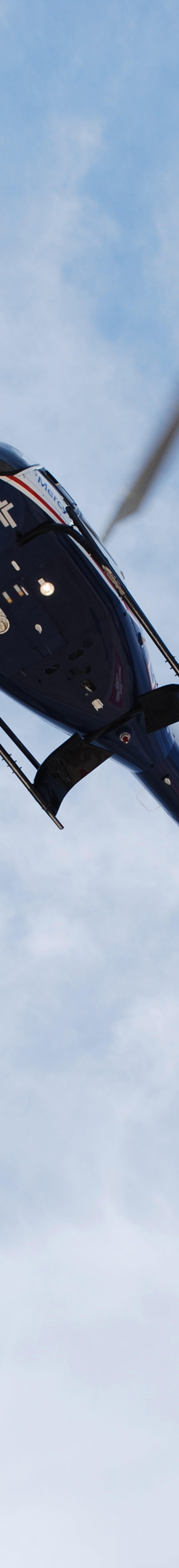 """Spirit of Mercy"" Emergency Medical Helicopter Takes Flight"