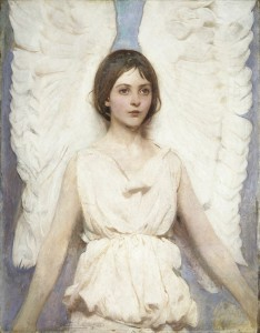 Abbott Handerson Thayer Angel, 1887 Oil on canvas Gift of John Gellatly Smithsonian American Art Museum, Washington, DC Image courtesy of Newark Museum, Newark, NJ