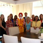 Women with a Mission with Ronald McDonald and Scott Street, CEO of Mercy NWA