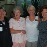 Donna Fallin, Beth Clem, Ginger Howard Graham and Mary McKinney