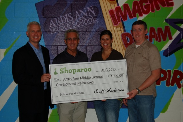 InfoScout Makes Donation to Local School