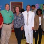 Summer Backstrom, George Spence, Jayne Kuhn, Circuit Judge John Scott, Sharita Rodriguez, John Halstead