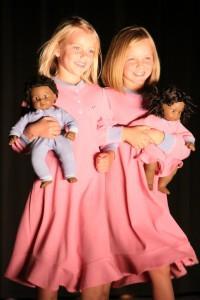 Mackenzie Scott & Arielle Soukal as Bitty Baby Twins