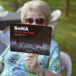 Nancy McVey, SoNA fan with a SoNA fan