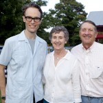 Maestro Paul Haas with Pete & Margo Heinzelmann