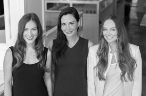 Past and current owners of lola boutique (left to right): Anna Cottrell, Jade Terminella & Lis Garrison.