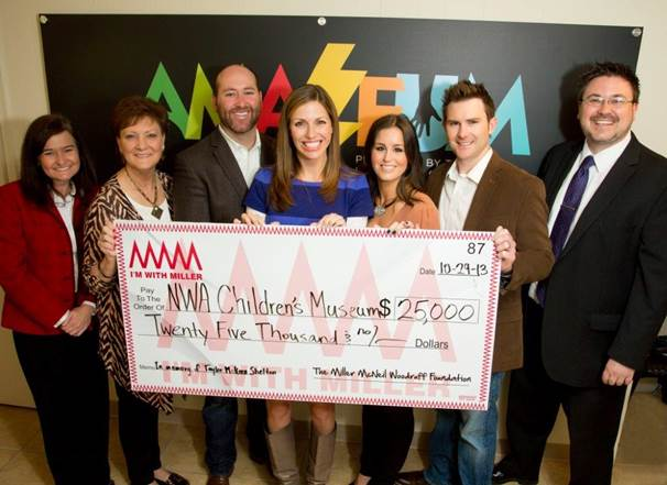 The Amazeum Accepts $25,000 Donation for Handicap Lift