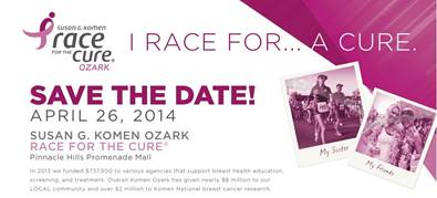 Shelley McMillon Named Honorary Chair 2014 Race for the Cure