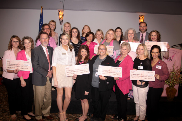 Ozark Affiliate of Susan G. Komen announces the 2015-2016 Grant Recipients