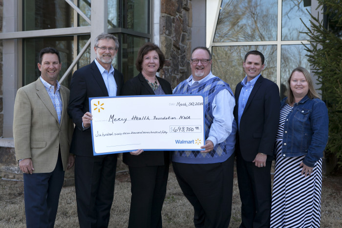 Mercy Fills Mental Health Gap In NWA with Help of Walmart Foundation