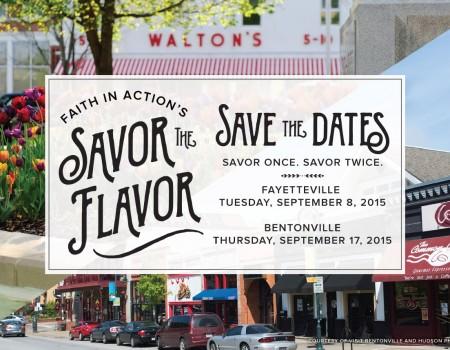 Savor the Flavor – Fayetteville