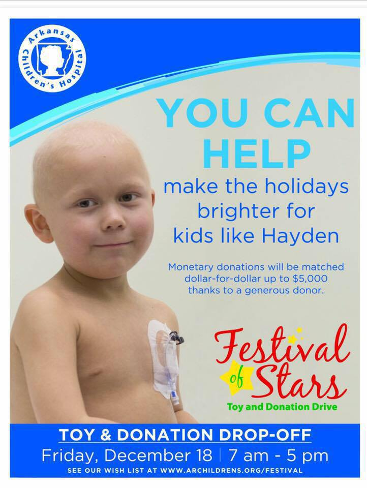 Importance of ACH's Festival of Stars Toy & Donation Drive