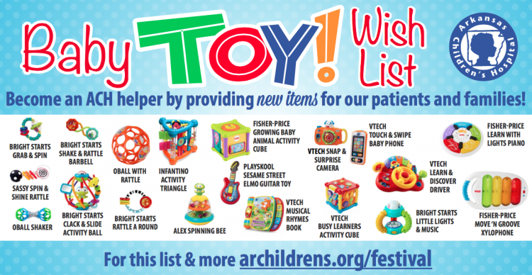 Baby Toy Wishlist
