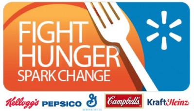 "Walmart Launches ""Fight Hunger. Spark Change."""