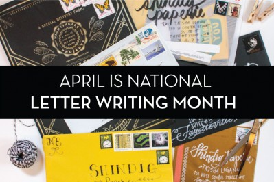 Shindig Celebrates National Letter Writing Month