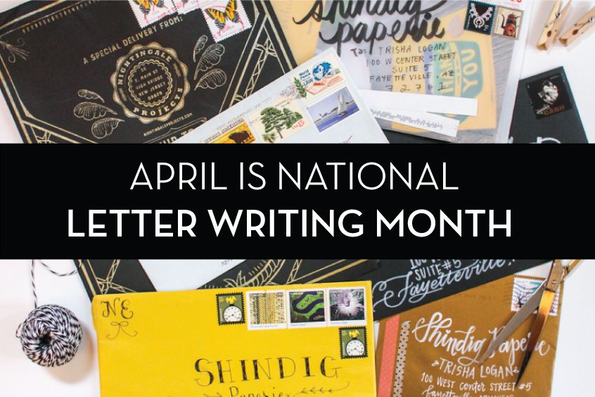 national letter writing month shindig celebrates national letter writing month 3w magazine 23752