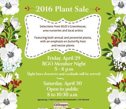 National Public Garden Day & Plant Sale