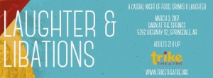 Laughter Libations banner 2017