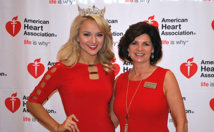Miss America Savvy Shields with Debbie Alsup