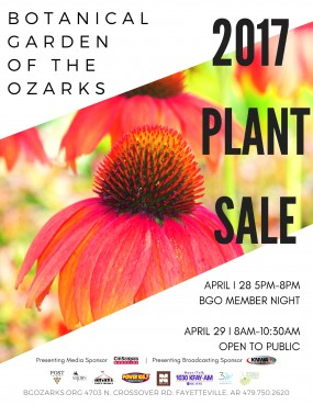 Botanical Garden of the Ozarks' Annual Plant Sale