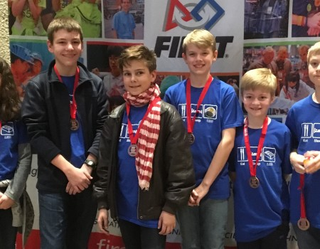 The New School LEGO Robotics Team Advances to International Competition