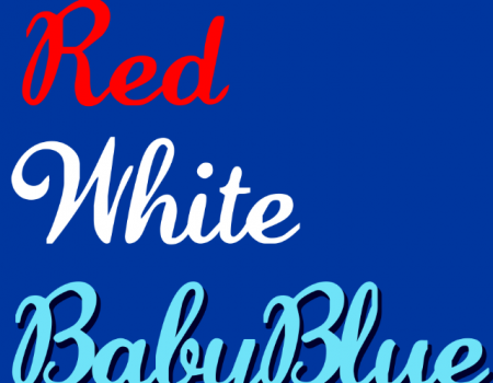 Red, White & Baby Blue