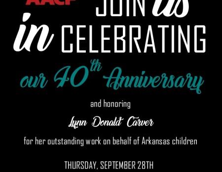 40th Anniversary Event Honoring Lynn Donald Carver