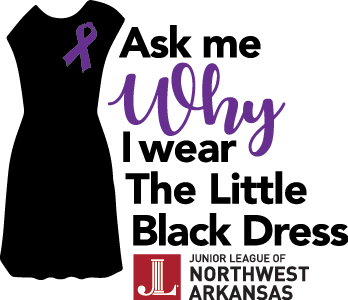 Junior League of NWA Raises Awareness for Domestic Violence: Little Black Dress Campaign 2017
