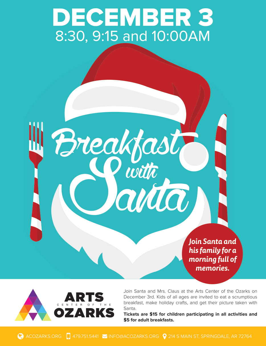 8 5x11 poster design - Aco Breakfast With Santa Poster 8 5x11 1