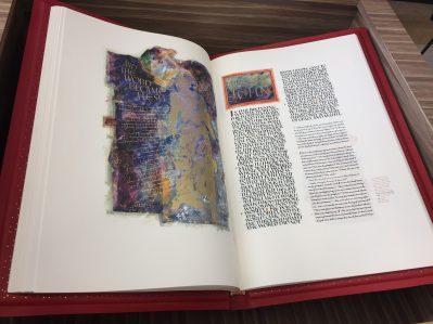 Heritage Edition of Saint John's Bible On Display at Mercy Hospital Northwest Arkansas