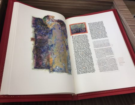Heritage Edition of Saint John's Bible On Display at Mercy Hospital Northwest Arkansas