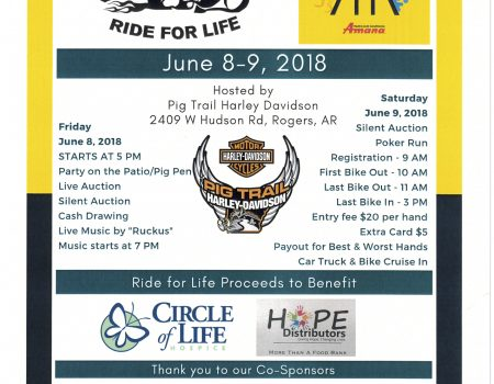 Summer Fun Run and Ride for Life