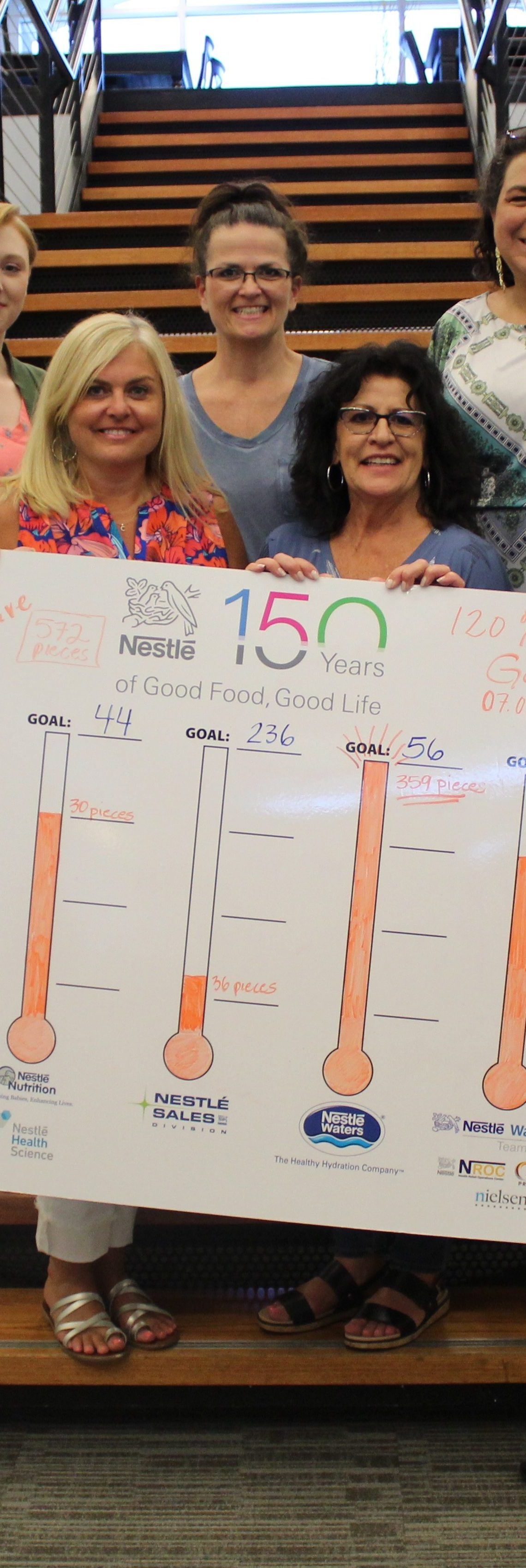 Nestlé donates to NWA Food Bank to kick off company's upcoming National Day of Service on Aug. 2