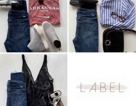 LABEL Look: Denim styled 3 ways