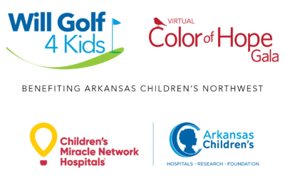 Will Golf 4 Kids Tournament: Aug. 5-6, 2021 and Virtual Color of Hope Gala: Aug. 7, 2021